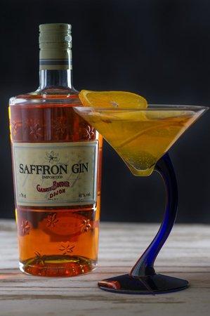 Gaylord Restaurant: Saffrontini - Signature cocktail