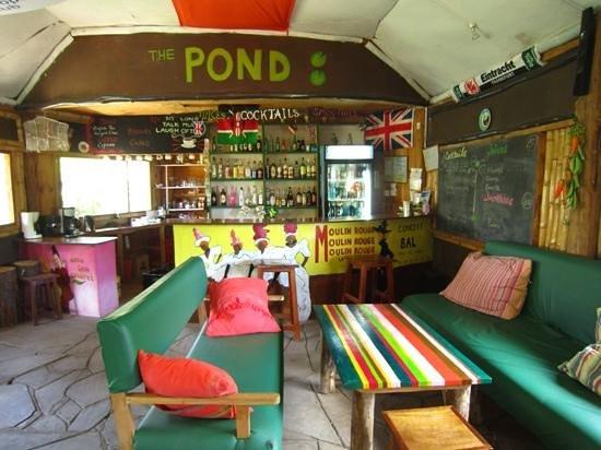 Lily Pond Arts Centre: inside bar