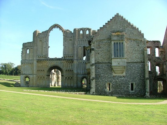 Castle Acre Priory: Priory front