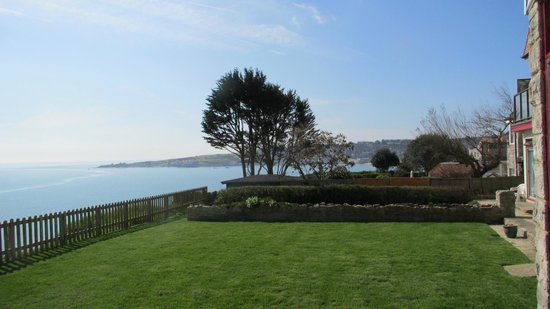 The Pines Hotel: Looking West Towards Swanage