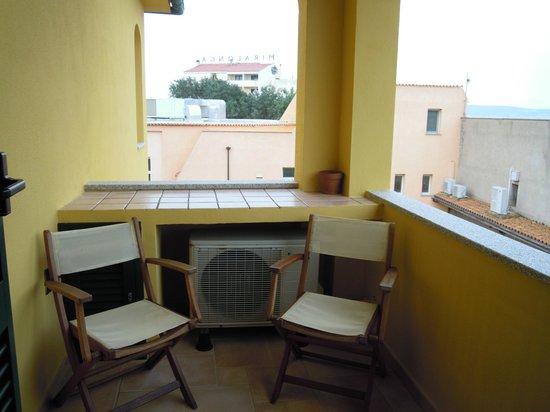 Hotel e Residence Villa Del Parco: terrazzo camera