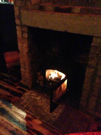 The Pub and Kitchen : log fires cozy…….