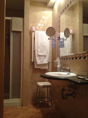Hotel Lancaster : Bagno
