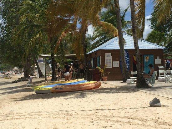 Club Med Les Boucaniers : centro surf