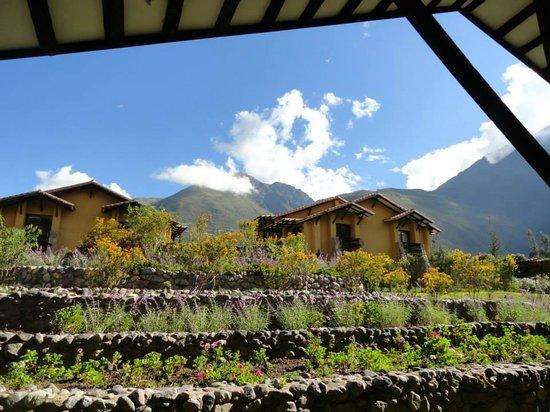 Tierra Viva Valle Sagrado Urubamba: View from dinning area
