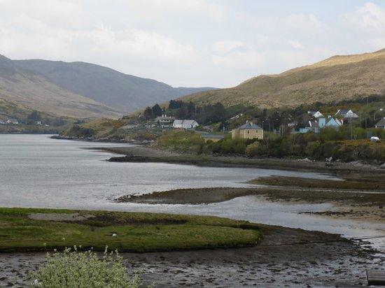Portfinn Lodge: vue sur le fjord irlandais