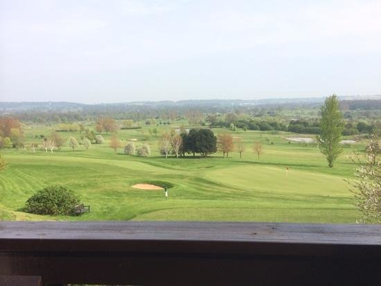 QLodges, Belton Woods: view from lodge 17 balcolny