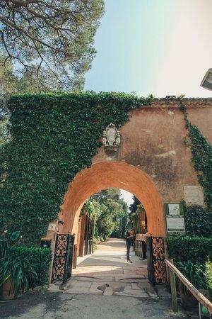 Jardin Santa Clotilde : Входные врата