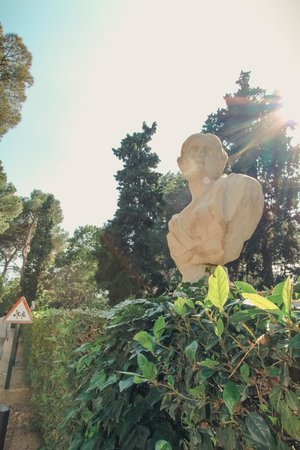 Jardin Santa Clotilde : Скульптура
