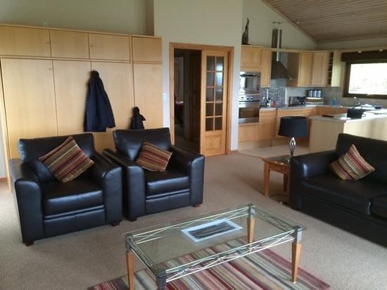 QLodges, Belton Woods: lodge 17 lounge 3