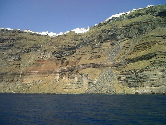 Santorini Volcano: vista