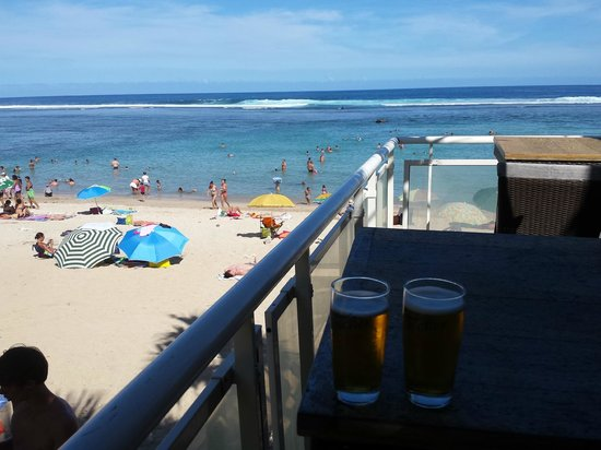 Alize Plage: View from the deck