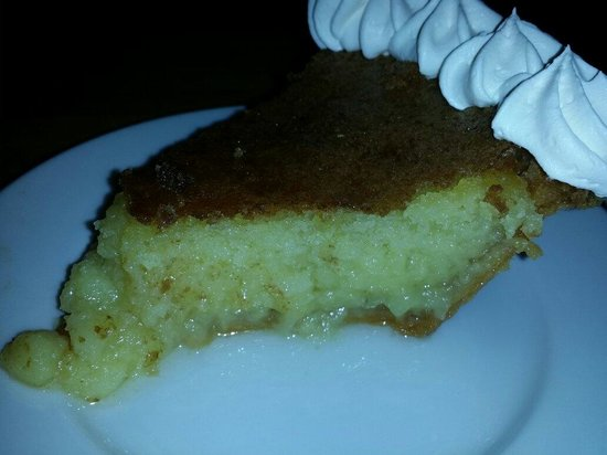 The Yesterday Cafe: BUTTERMILK PIE ...DO NOT MISS! You can order one to take home!