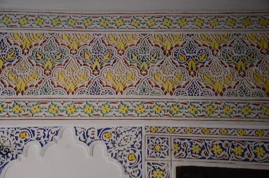 Dar el Bali : Les stucs peints.
