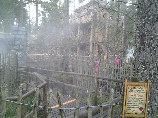 Landmark Forest Adventure Park: the maze