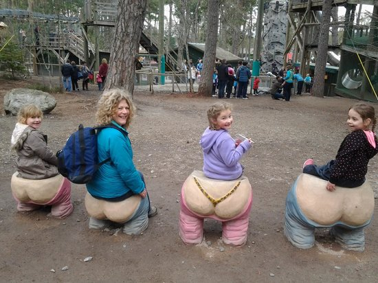 Landmark Forest Adventure Park: does my bum look big in this