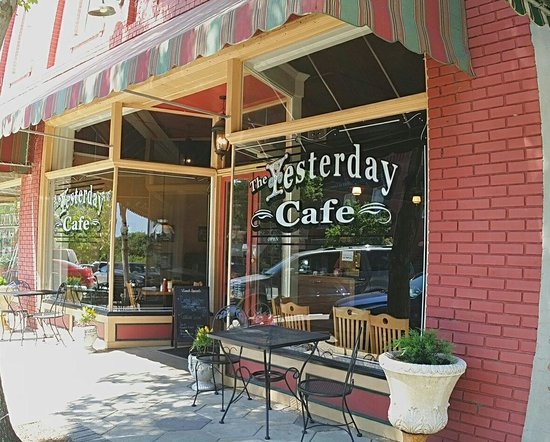 The Yesterday Cafe: One of our Happy Places :)