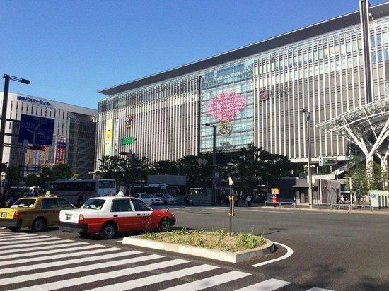 JR Kyushu Hotel Blossom Hakata Chuo: Hotel is very very close to the JR Hakata Station