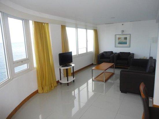 Vila Gale Salvador: Sala da suite