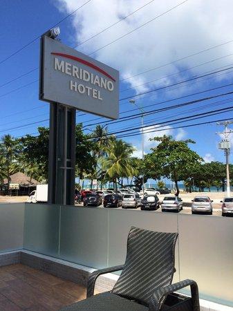Meridiano Hotel: De frente para a praia