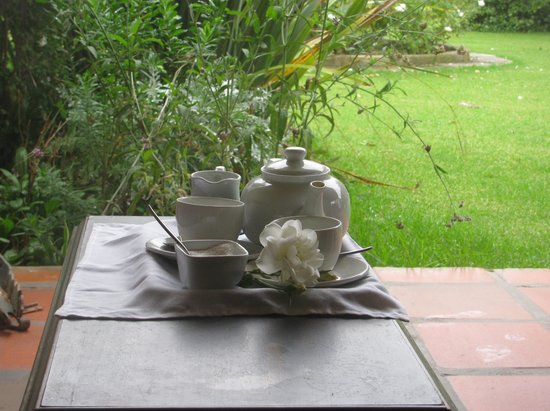 Oue Werf Guesthouse: Tea offered on arrival