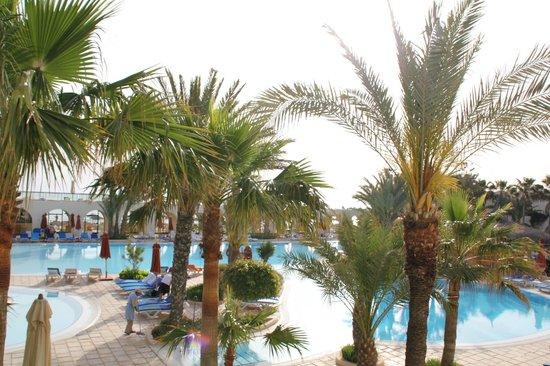 SENTIDO Djerba Beach : vue de notre chambre