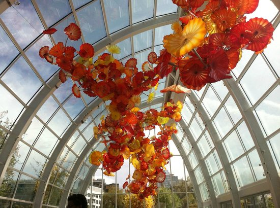 Chihuly Garden and Glass : Glass house