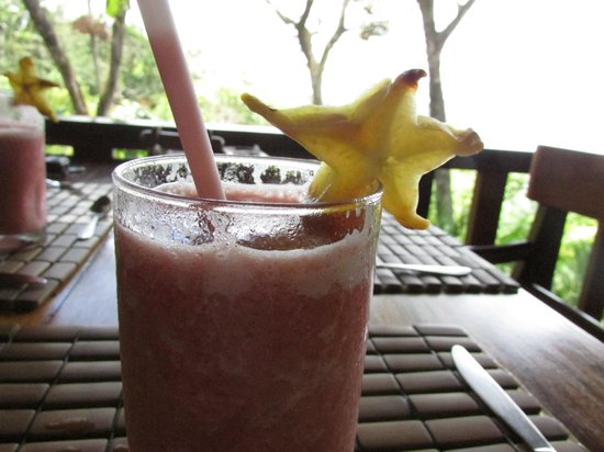 Hotel Costa Verde: A yummy fruit smoothie every afternoon