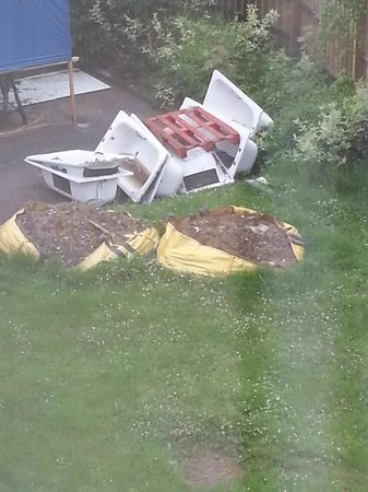 Hilton Bracknell: view from windoe