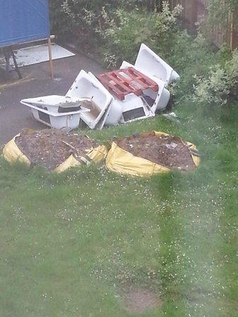 Hilton Bracknell: view from window