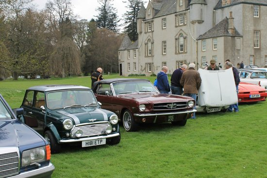 Leith Hall, Garden and Estate : Drive It Day 2014