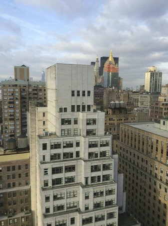 Dumont NYC–an Affinia hotel: south view from 28th floor