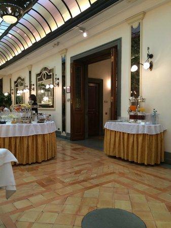 Helvetia & Bristol Hotel: Sala colazione
