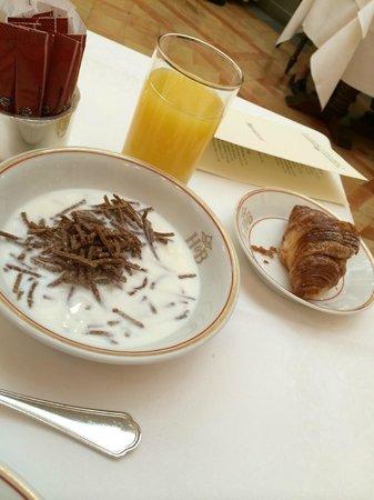 Helvetia & Bristol Hotel: Colazione