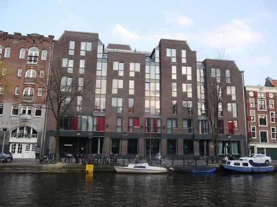 Andaz Amsterdam Prinsengracht: The Andaz from across the canal