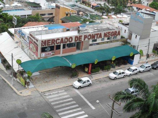 Quality Hotel & Suites Natal : Vista da sacada!!!