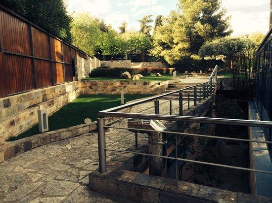 Sansi Pedralbes: los jardines
