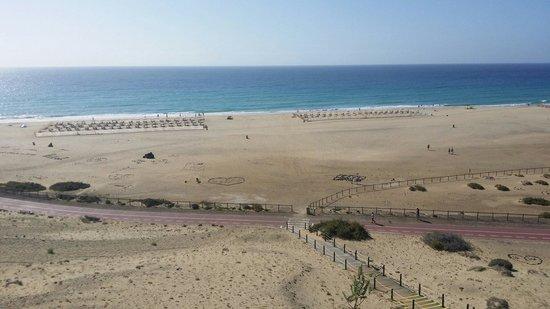 IBEROSTAR Fuerteventura Palace: Vista desde el hotel