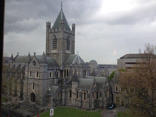 Jurys Inn Dublin Christchurch: Panoramadalla finestra
