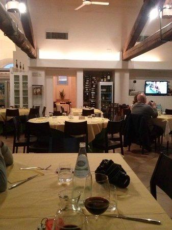"""Interno del ristorante """"Il convento"""""""