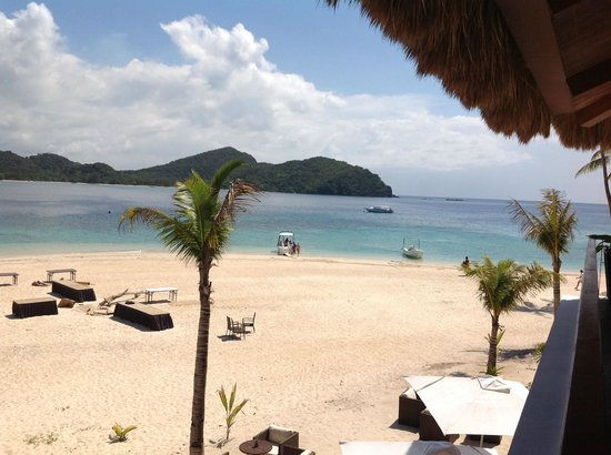 El Nido Resorts Pangulasian Island: beach area