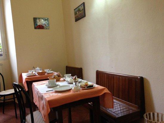 Hotel Eden: sala colazione