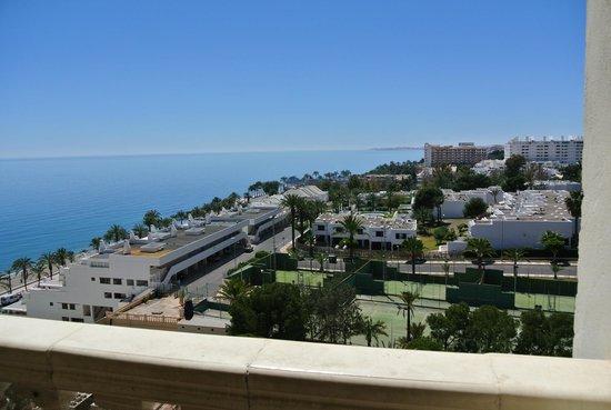 ALEGRIA Portomagno: en esta se ve donde esta el mar desde la misma habitación