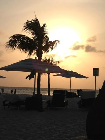 Bucuti & Tara Beach Resort Aruba: Bacuti at Sunset