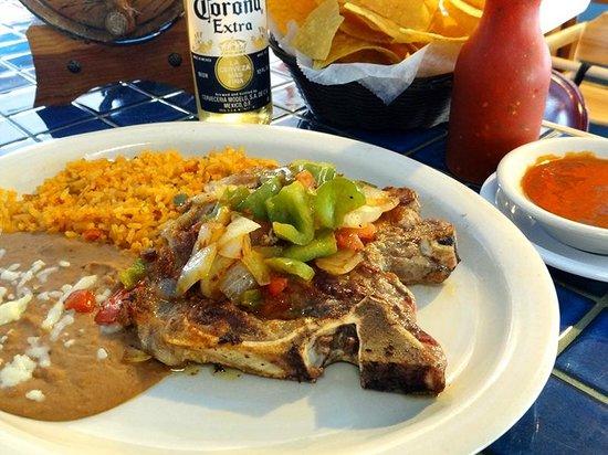 Costa Azul Mexican Restaurant: Steak