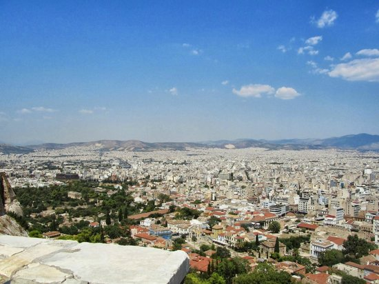 Acropole : View from the Acropolis