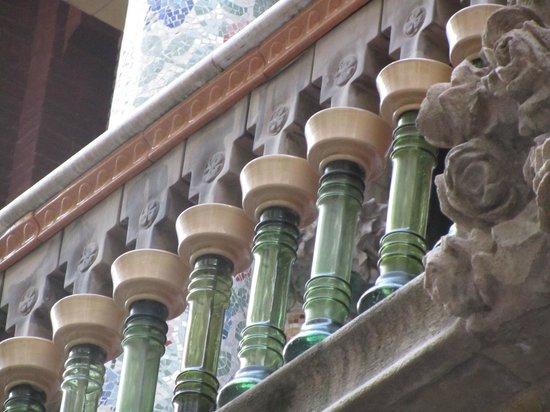 Palais de la Musique Catalane (Palau de la Musica Catalana) : Detalhes encantadores