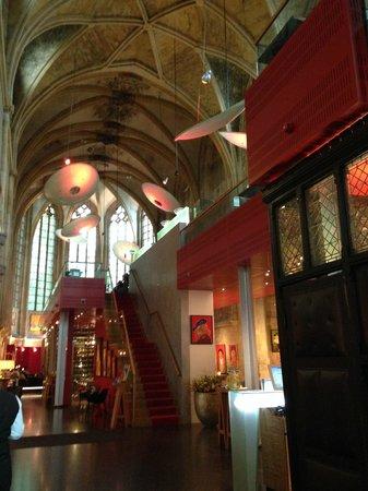 Kruisherenhotel Maastricht : Recepção