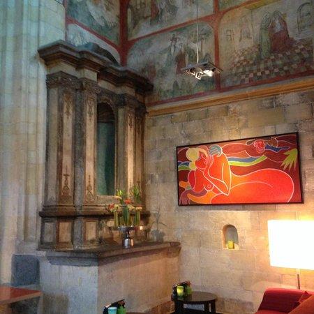 Kruisherenhotel Maastricht : Recepção do hotel