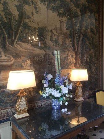 Château de Bourron : Foyer